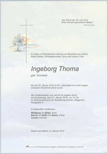 THOMA Ingeborg