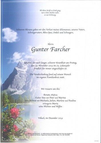 Gunter Farcher