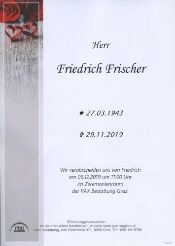Friedrich Frischer