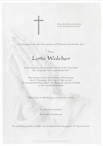 Lotte Walcher
