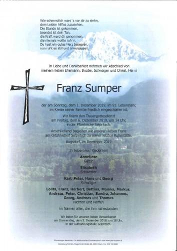 Franz Sumper