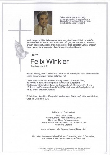 Felix Winkler