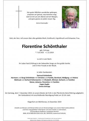 Florentine Schönthaler