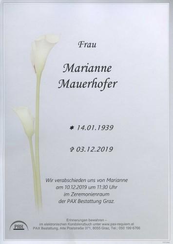Marianne Mauerhofer