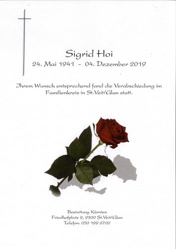 Sigrid Hoi