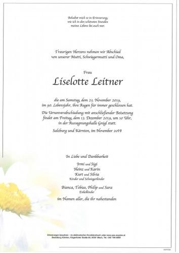 Lieselotte Leitner