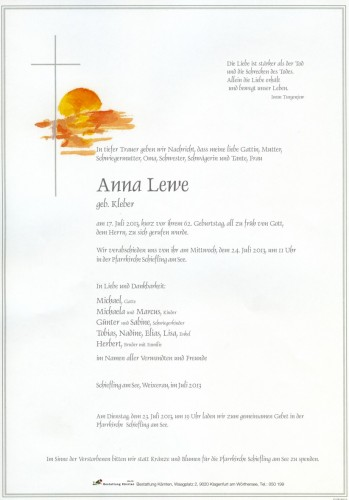 Anna Lewe