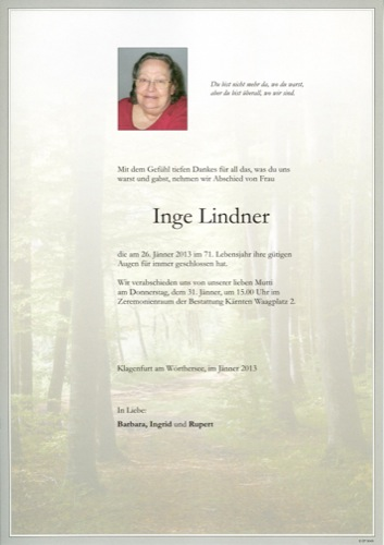 LINDNER Ingrid