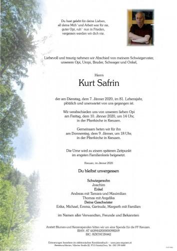 Kurt Safrin
