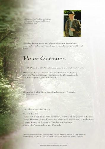 Peter Gurmann