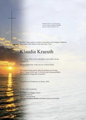 Klaudia Kraeuth
