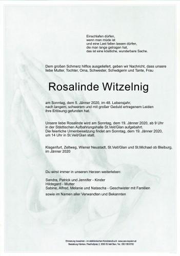 Rosalinde Witzelnig