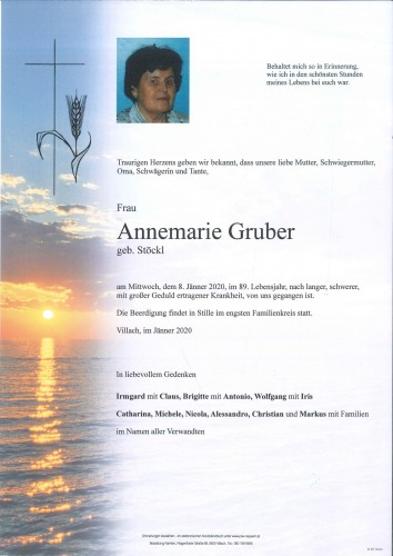 Annemarie Gruber