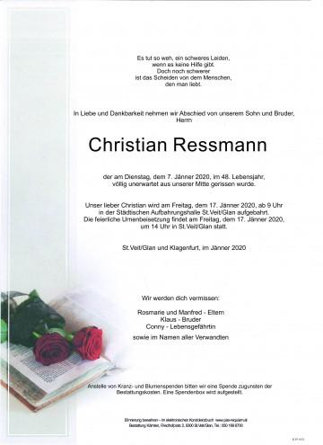 Christian Ressmann