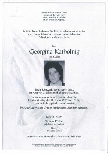 Georgina Katholnig
