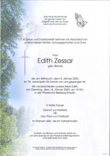 Edith Zessar