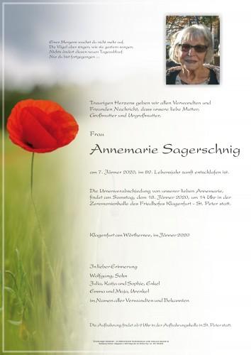 Annemarie Sagerschnig