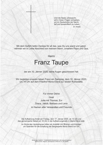 Franz Taupe