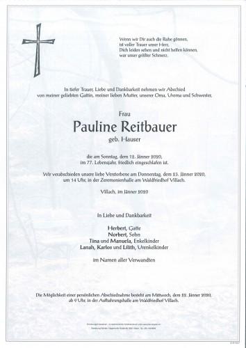 Pauline Reitbauer