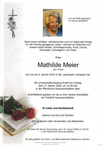Mathilde Meier