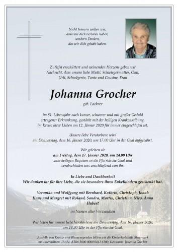 Johanna Grocher