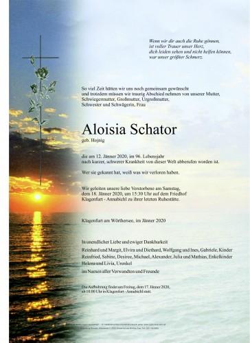 Aloisia Schator
