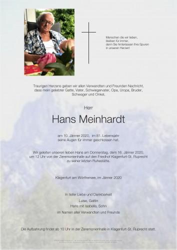 Hans Meinhardt