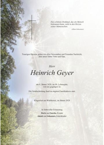 Heinrich Geyer