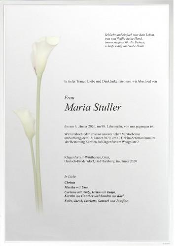 Maria Stuller