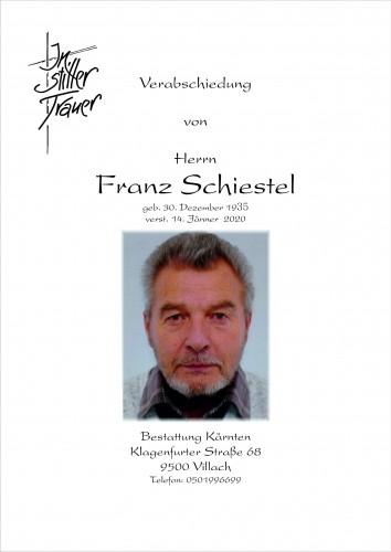 Franz Schiestel