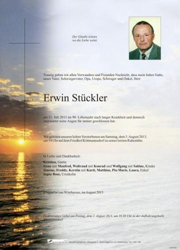 Erwin Stückler