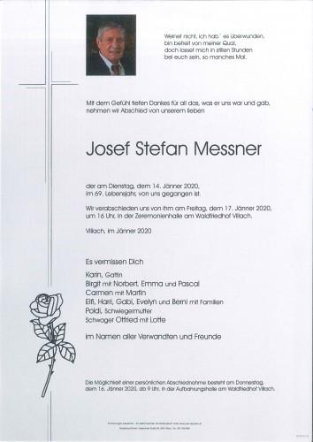 Josef Stefan Messner