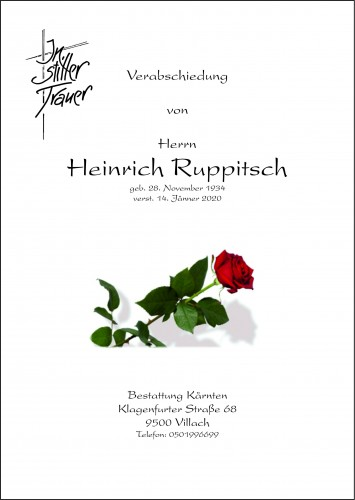 Heinrich Ruppitsch