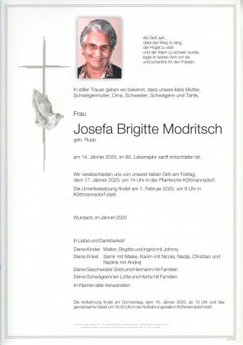 Josefa Modritsch