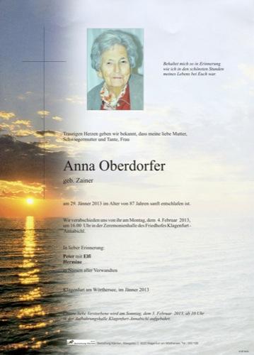 OBERDORFER Anna