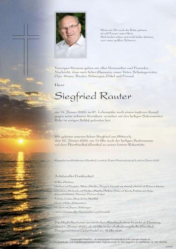 Siegfried Rauter