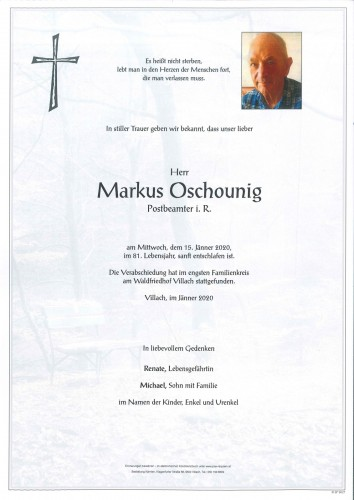Markus Oschounig