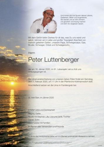 Peter Luttenberger