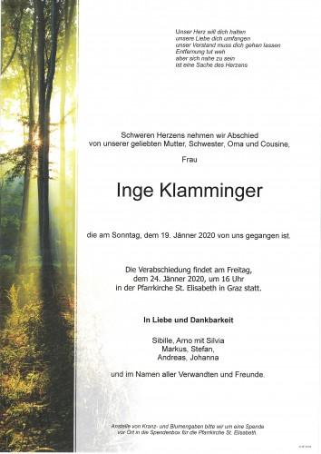 Inge Klamminger