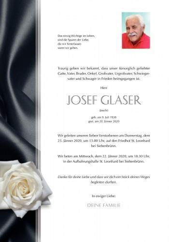 Josef Glaser