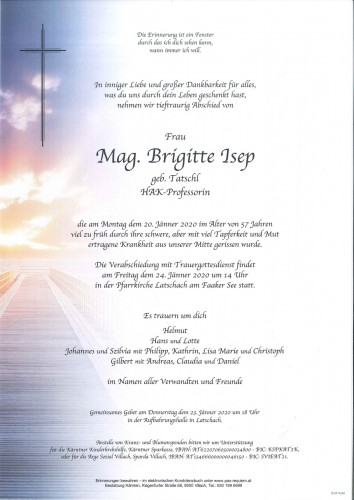 Mag. Brigitte Isep