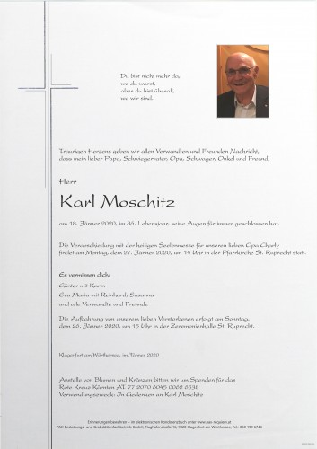 Karl Moschitz