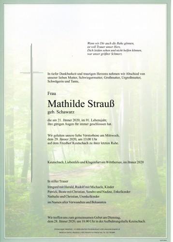 Mathilde Strauß