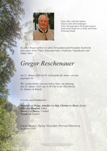 Gregor Reschenauer