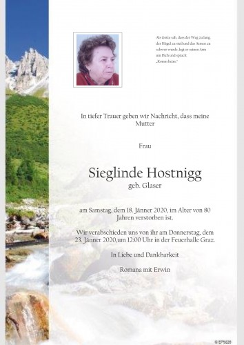 Sieglinde Hostnigg