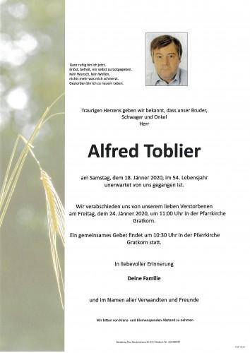 Alfred Toblier