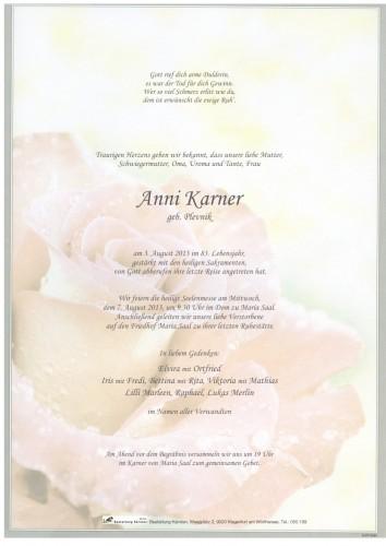 Anna Karner