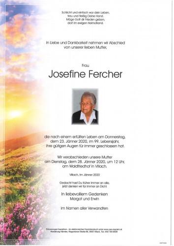 Josefine Fercher