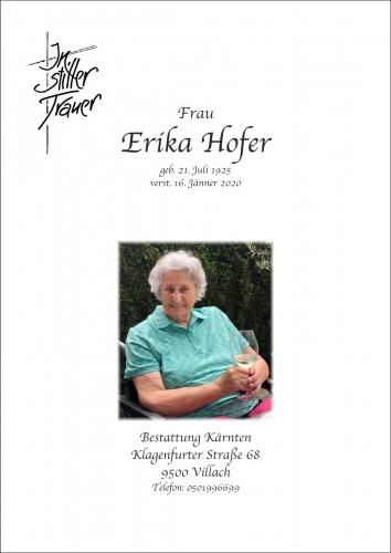 Erika Hofer