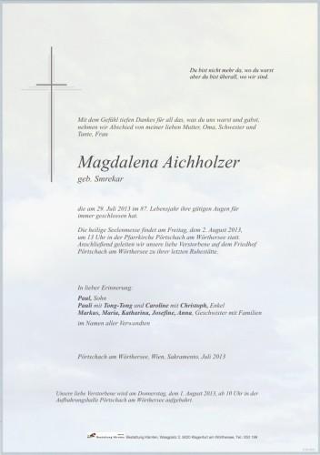 Magdalena Aichholzer